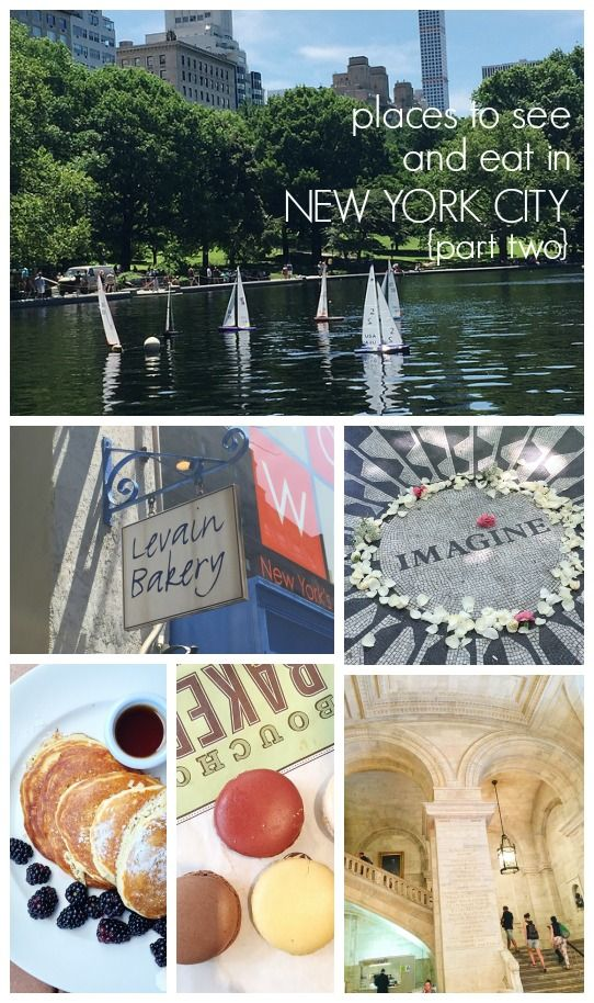 Things to do and eat in New York City