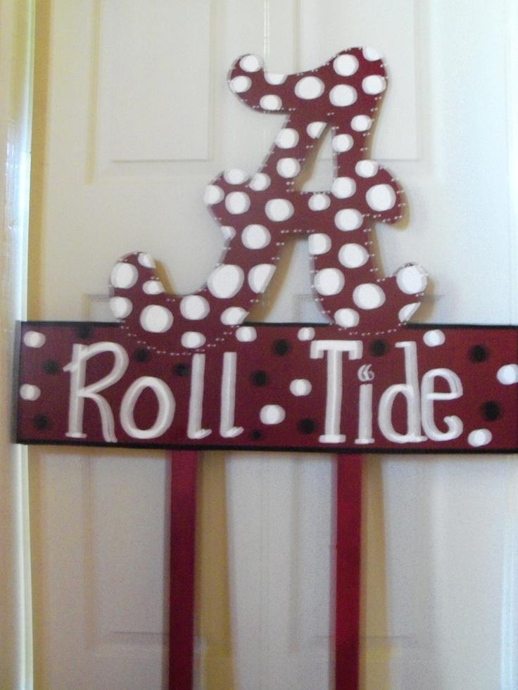 Alabama Roll Tide yard sign