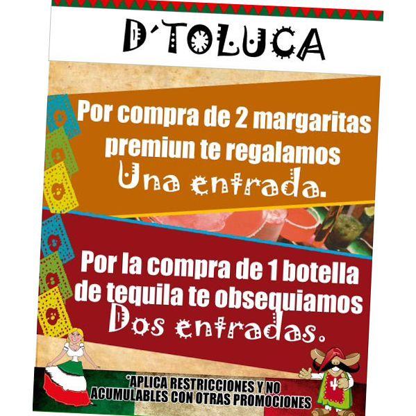 Además #2X1 en #DoñaMargara ¡¡¿2X1 en Doña Márgara?!!  ...si, si, aunque no lo crea... los #JuernesDToluca son #Recomended