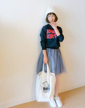 人気読者モデル武智志穂ちゃんの私服が可愛い! - NAVER まとめ