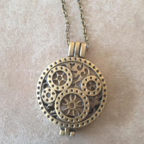 Diffuser Necklace #wearyouroils #aromatherapy #necklacediffuser #essentialoils