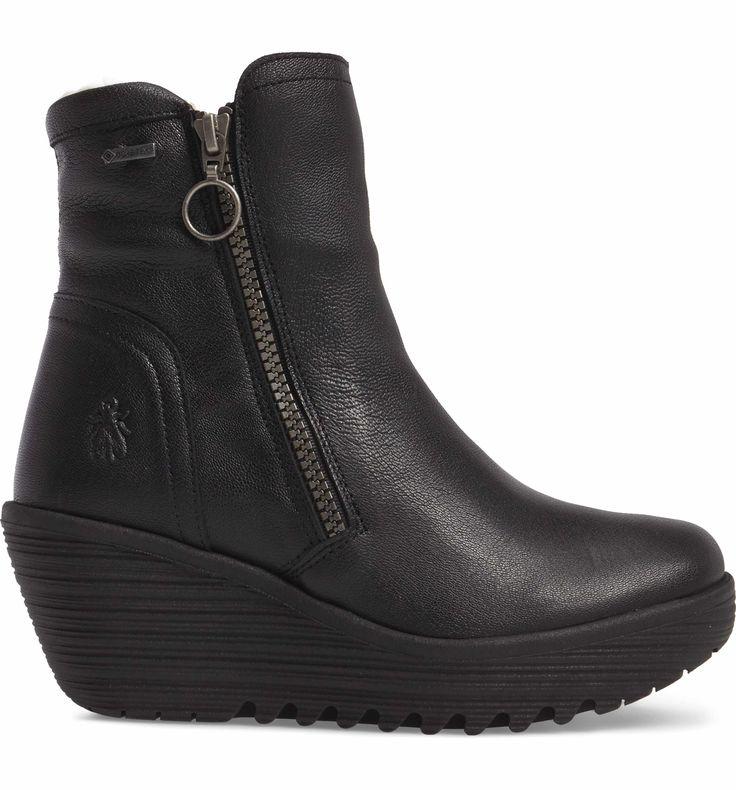 Main Image - Fly London Waterproof Gore-Tex® Wedge Boot (Women)