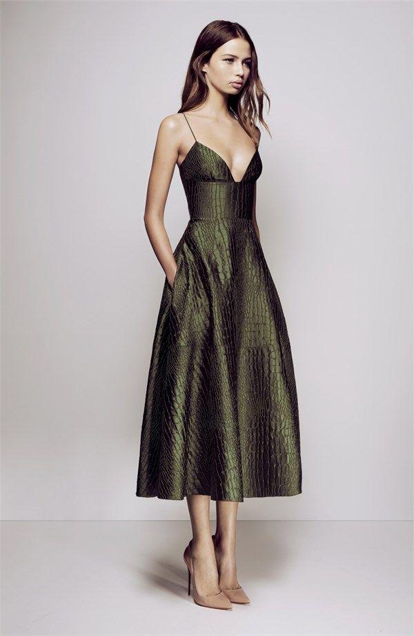 PRE ORDER La Verne Midi Dress by Alex Perry