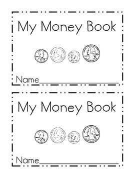 This mini-book is perfect for introducing students to coins.  It is designed to help children learn to identify quarters, nickels, dimes and pennies.  It also introduces them to value of each coin and ends with using skip counting to count groups of like coins.