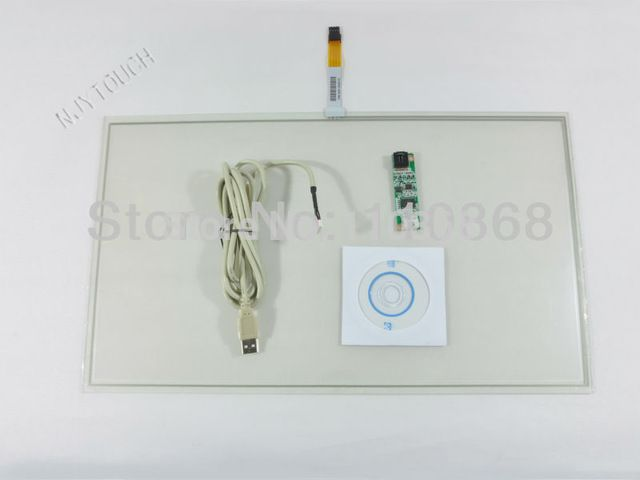"New 18.5"" 4 Wire Resistive Touch Screen Panel Kit for 18.5 Inch LCD Panel Monitor USB 429x253mm US $59.99 /piece To Buy Or See Another Product Click On This Link  http://goo.gl/EuGwiH"