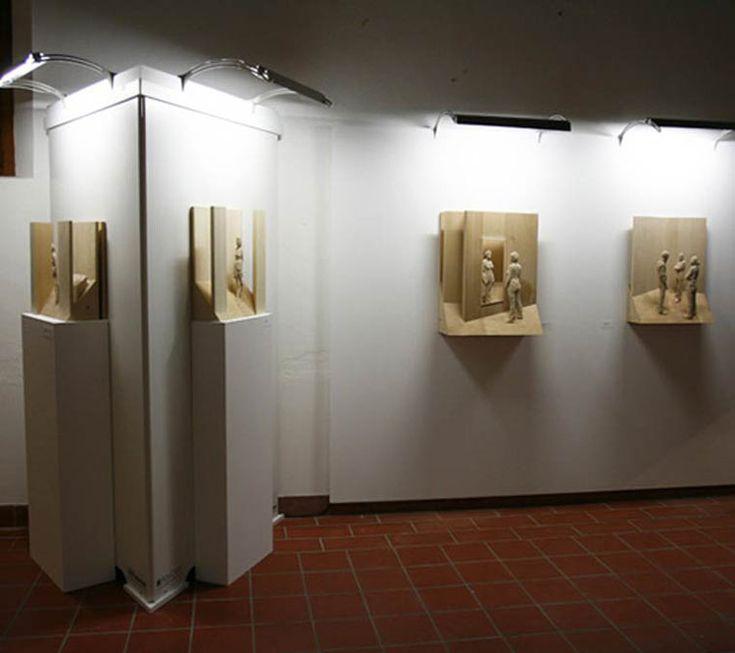 Increíbles esculturas realistas en madera talladas a mano por Peter Demetz