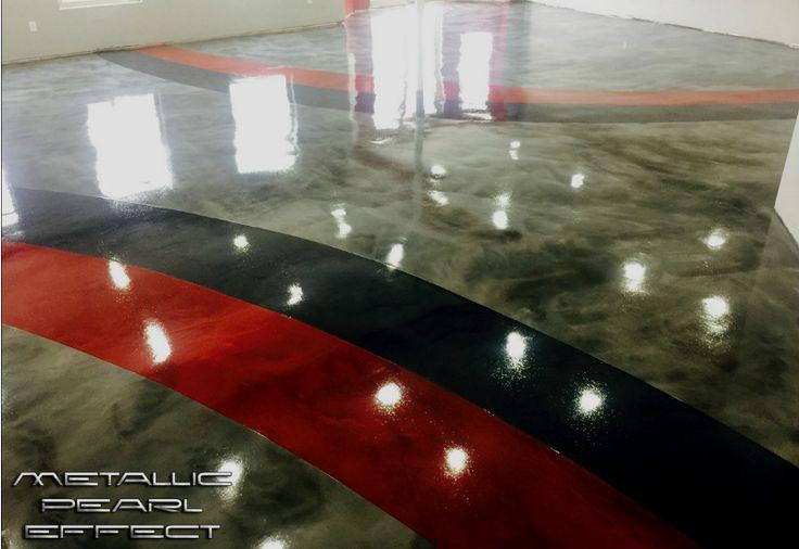 Metallic Epoxy Garage Floor Coatings | We Review RockSolid's Metallic Garage Floor Coating | All ...