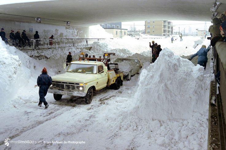 Limoilou dans les années 1970 (6) : une impressionnante tempête printanière…