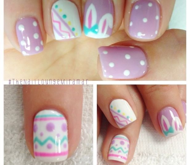 Easter Nails @Luuux