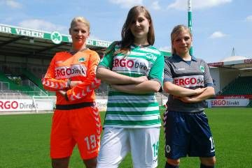 SpVgg Greuther Fürth hummel 2013/14 Home, Away and Third Kits
