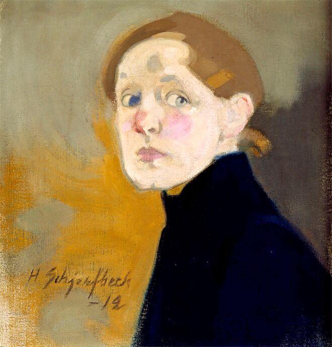 Self Portrait, 1912, Helene Schjerfbeck