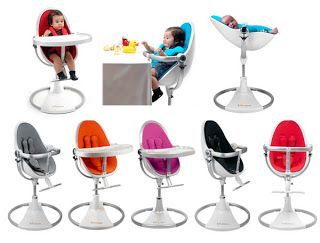 Bloom Baby High Chair. love that it tilts backwards so newborns can use it to.