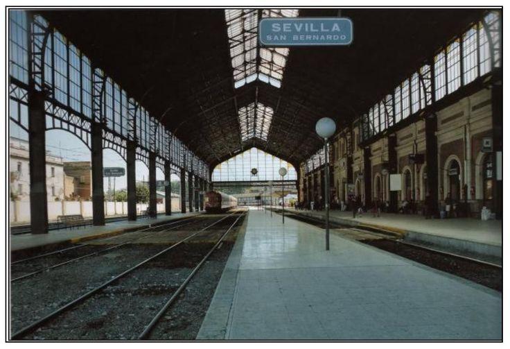 marquesina estacion tren - Antigua Estación San Bernardo_Sevilla