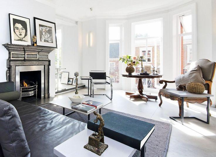 нравиться квартира и сочетание предметов разных стилей