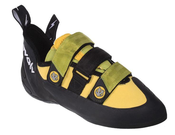 Evolv Pontas II Yellow/Lime - Klatresko - Klatreutstyr - Utstyr - Produkter