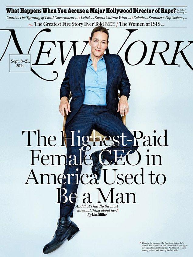 La CEO mejor pagada de EEUU es transexual (también fabrica clones y ha fundado una religión futurista)