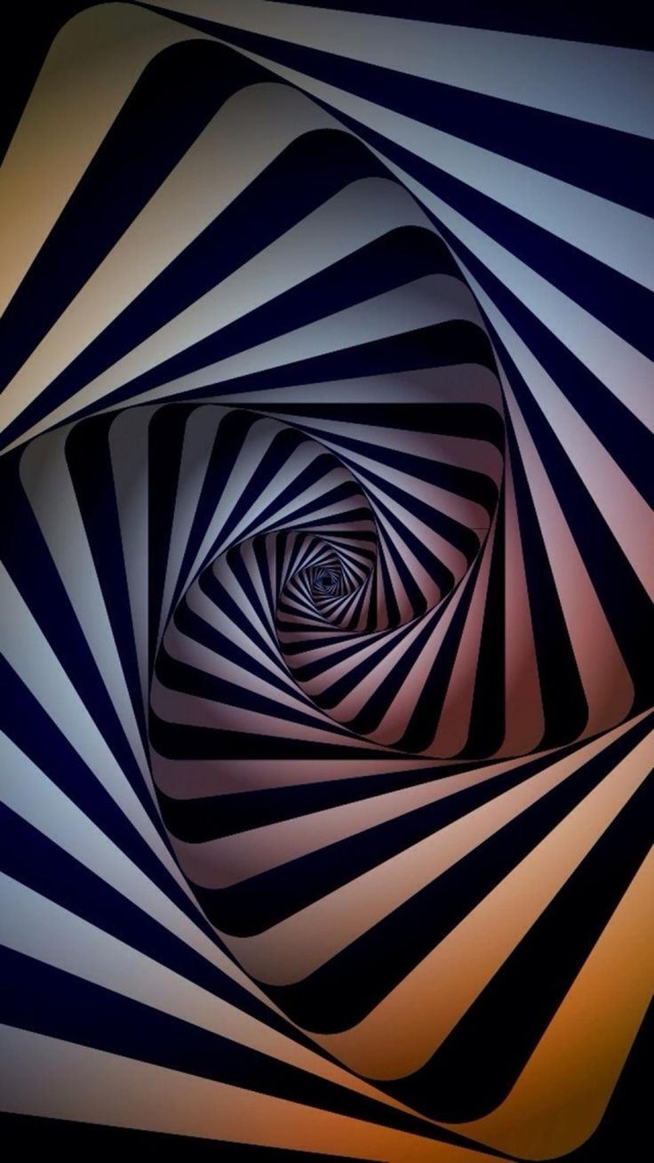 Abstract Swirl Dimensional 3D iPhone 8 Wallpapers Iphone