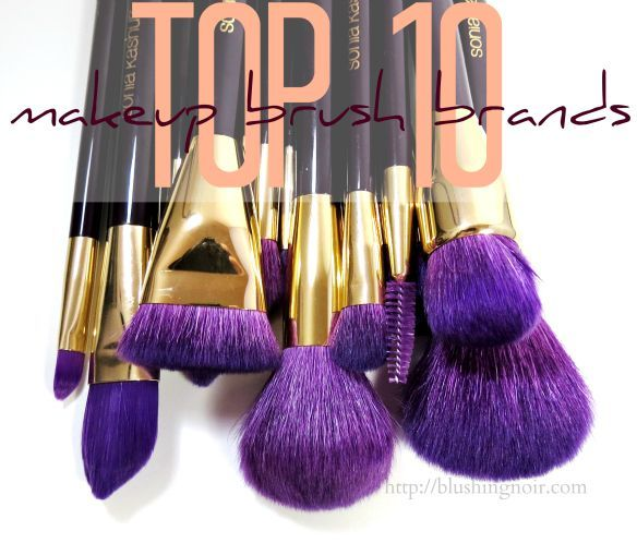 The best brands for Makeup Brushes! Drugstore & Designer. via @blushingnoir