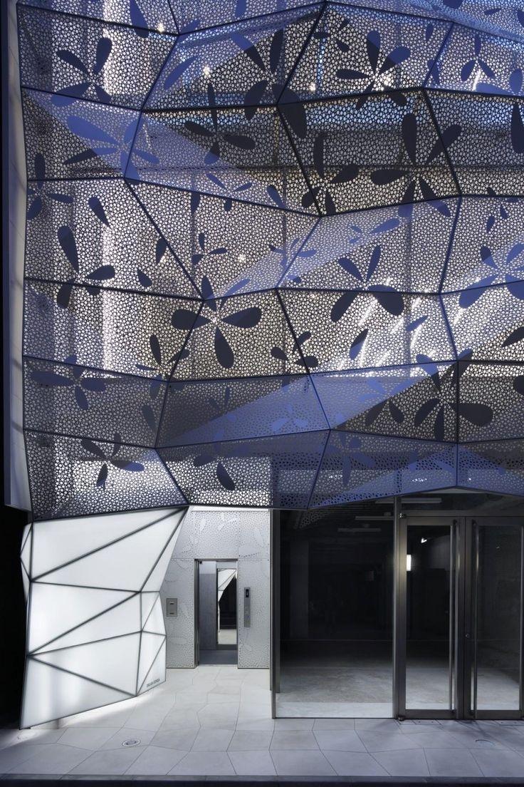 Dear Ginza Building By Amano Design Office Facade