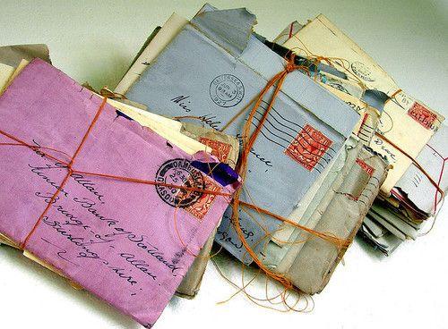 handwritten love letters = the key to a heart