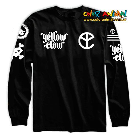 Buzo Yellow Claw Blood For Mercy - Color Animal