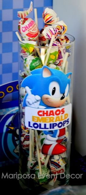 Sonic the Hedgehog Birthday Party Ideas | Photo 7 of 26 | Catch My Party
