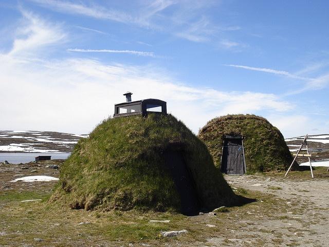 Sami House in Hardangervidda - Norway by guillermogg, via Flickr