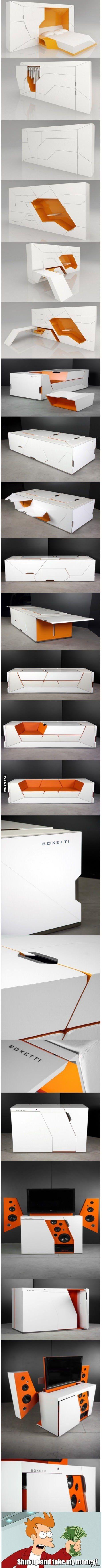 Мебель будущего будущее, мебель, компактность, 9gag, длиннопост, shut up and take my money