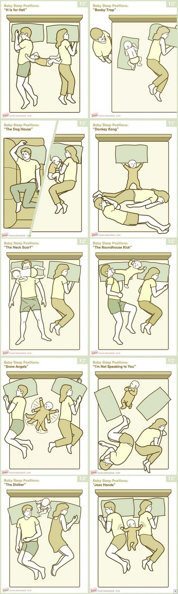 Ugh, first time I've resorted to letting her in our bed and this is very accurate... About that bad day post earlier...
