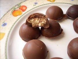 cioccolatini ripieni al mascarpone e amaretti