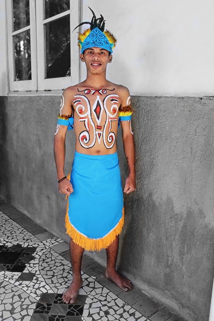 Papua man dancer - PSBI 2013
