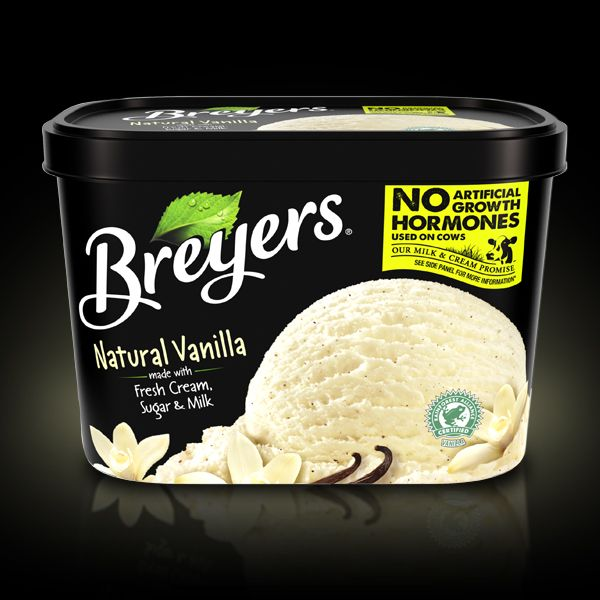 Bring out the natural flavors in fresh fruit pies, cobblers and crisp with America's favorite vanilla -- Breyers(R) Natural Vanilla.