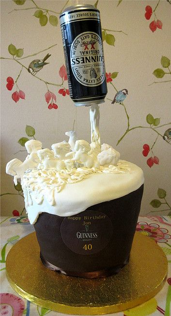 Guinness anti gravity cake                                                                                                                                                     More