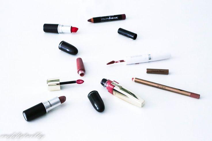 Lipstick, Lippenstift, Lipgloss, MAC, L'Òreal Shine Caresse Romy, Pillow Talk Charlotte Tilbury, Manhattan Super Stay 24