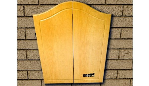 Dart Cabinets – Custom Made. Dart cabinets are designed to hold a dartboard ready for play, while not in play the doors may be closed to hide the board. Our dart cabinets add beauty to any room. Choose one of our designs or have one custom made to your requirements.