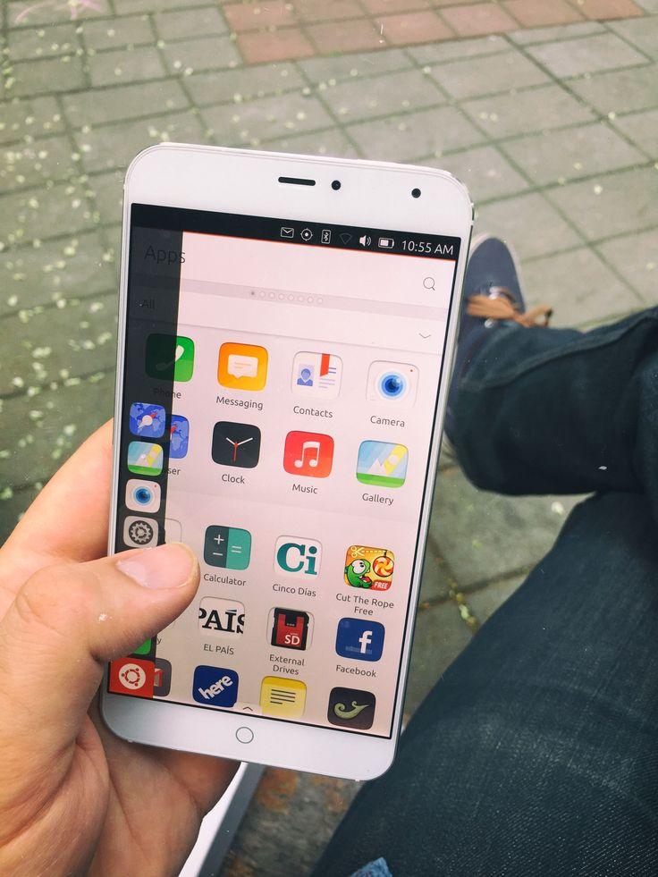 Ubuntu Phone - Meizu MX4 Ubuntu Edition
