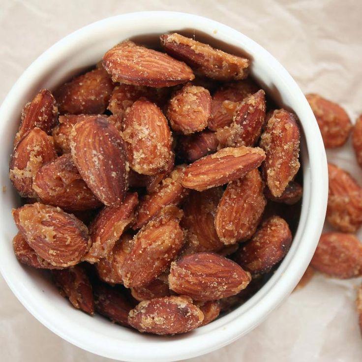 Amandes confites au sirop d'érable - 5 recettes faciles à l'érable