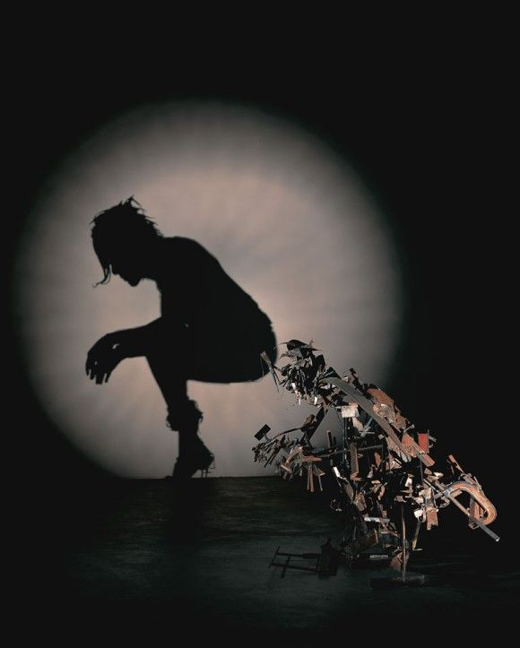What a load of rubbish !...Amazing Shadow Art from Trash Sculptures  tim Noble and Sue Webster