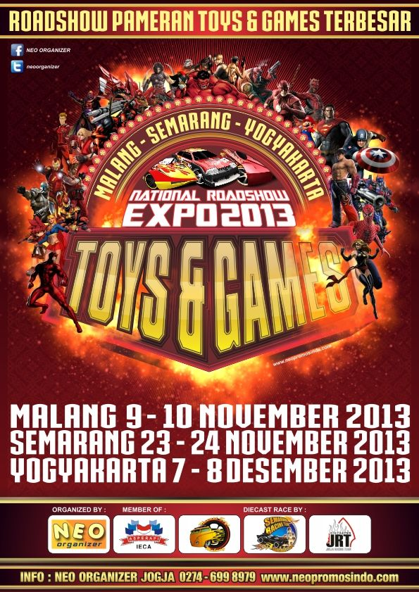 NATIONAL ROADSHOW TOYS & GAME EXPO 2013 http://bit.ly/1aXqVAu