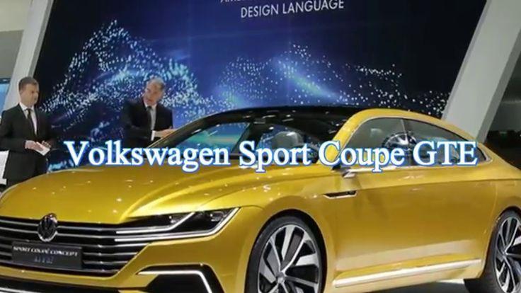 Best New Cars 2017 ~ Volkswagen Sport Coupe GTE