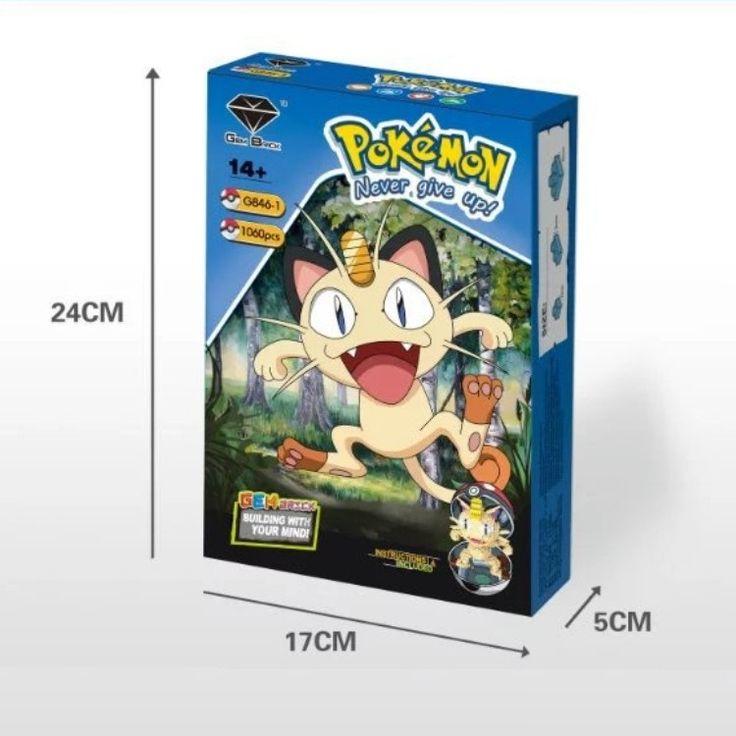 GEM Blocks Pokemon G846-1-3