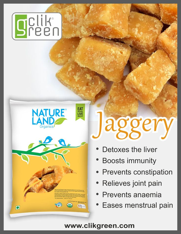 Benefit of Jaggery: 1. Detoxes the Liver. 2. Boosts immunity. 3. Prevents Constipation. 4. Relieves joint pain. 5. Prevents anaemia. 6. Eases Menstrual pain. #clikgreen #organicfood #sweetner #Jaggery #Jointpain