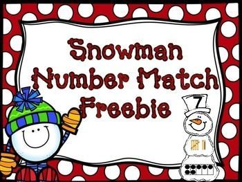 """This+is+a+fun,+easy+prep+""""make+a+snowman""""+number+match.++All+you+need+to+do+is+print+and+cut+(easy+cut+with+paper+cutter).++Students+need+to+build+each+snowman+matching+the+number,+tens+frame,+and+tally+mark.Check+out+my+other+snowman+FREEBIE+product:++Snowman+Beginning+Sounds+Center+FREEBIEFeel+free+to+contact+me+with+any+questions+you+may+have+whatsoever....I'm+happy+to+help+in+any+way+I+can.Enjoy!Stephanie+Anns.ann.k1971@gmail.com"""