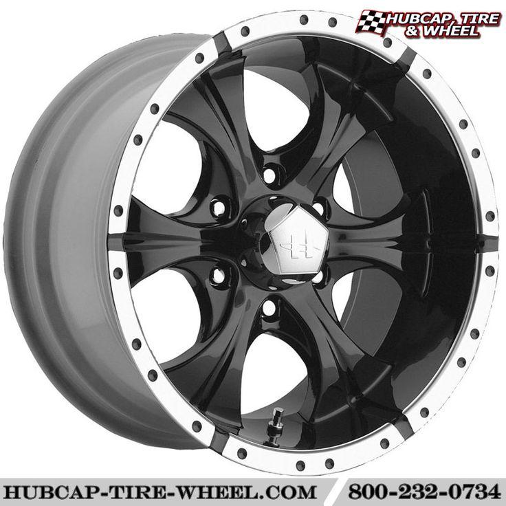 Helo HE791 Maxx Gloss Black / Machined Lip Wheels & Rims