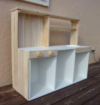 3段ボックスキッチン
