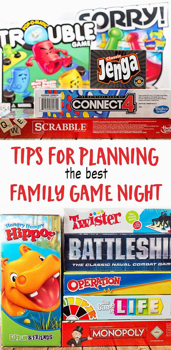 The best activity to help bring your family closer: GAME NIGHT! Here are just a few tips to help you plan the best family game night possible!   GetYourGameOn AD