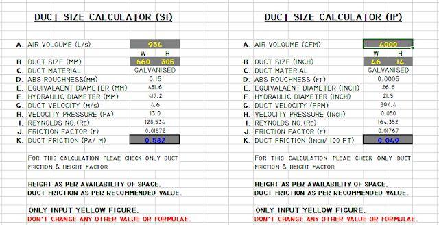 Goldentyme (goldentyme0469) on Pinterest - duct pressure drop calculation spreadsheet