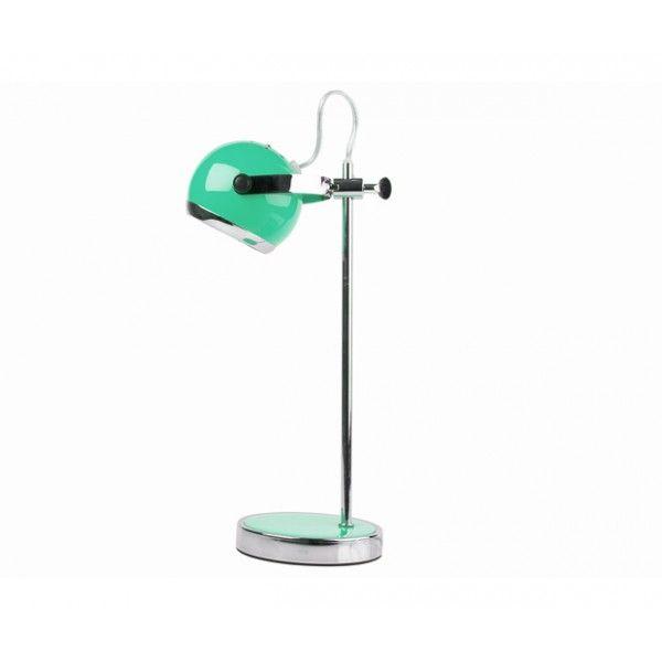 Wie kent ze niet, de mini Retro tafel/bureaulampen van vroeger. Nu dan in een nieuw jasje. Deze Retro tafel/bureaulamp is in hoogte verstelbaar, de spot kan zowel rond als van boven naar onder gedraaid worden. Dus licht op de plek waar u het nodig heeft. Verkrijgbaar in  6 kleuren en chroom.