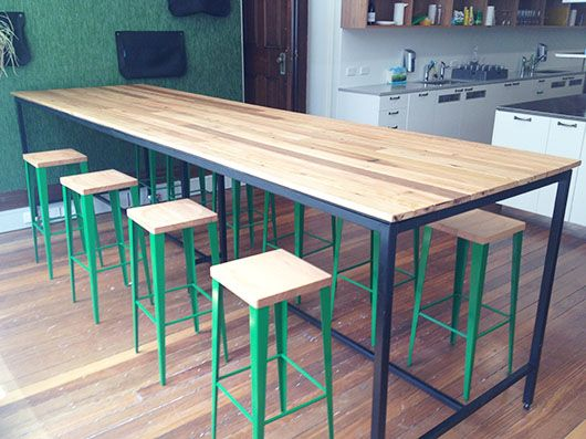 Custom Table top material & base colour as per client's specifications