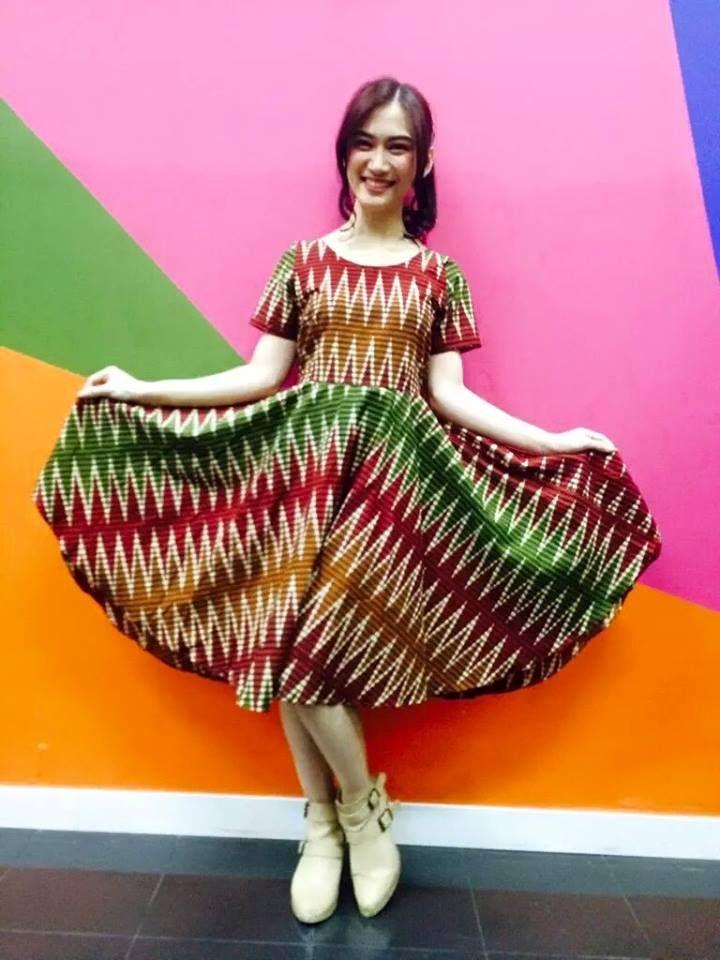 Yaphhh.Kibarkan Dress batikmu my Melody